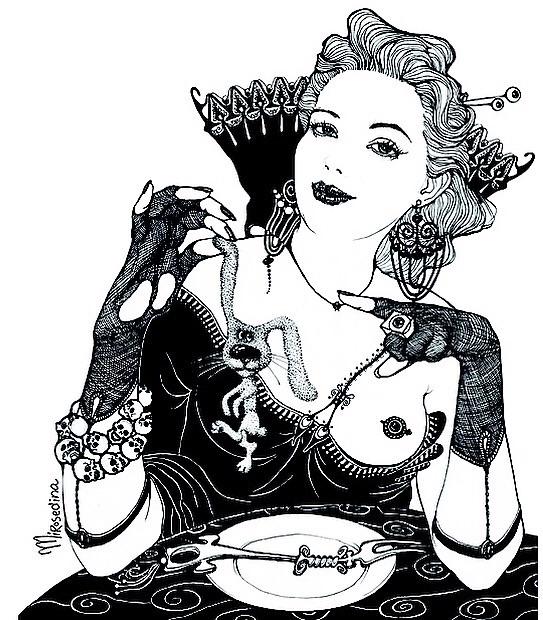 Lady Luck* graphic mirosedina a - mirosedina | ello