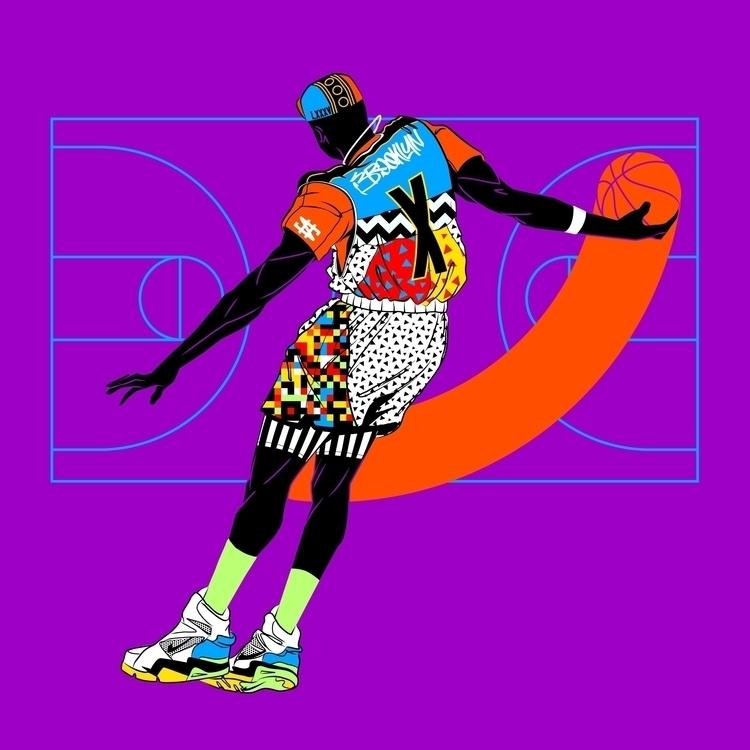 JUMPMAN X illustration sports - brisseaux | ello