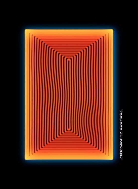 radiation art design experiment - mariusnedelcu   ello