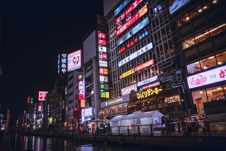 Dotonbori, Osaka night japan, t - andrei-stoica | ello