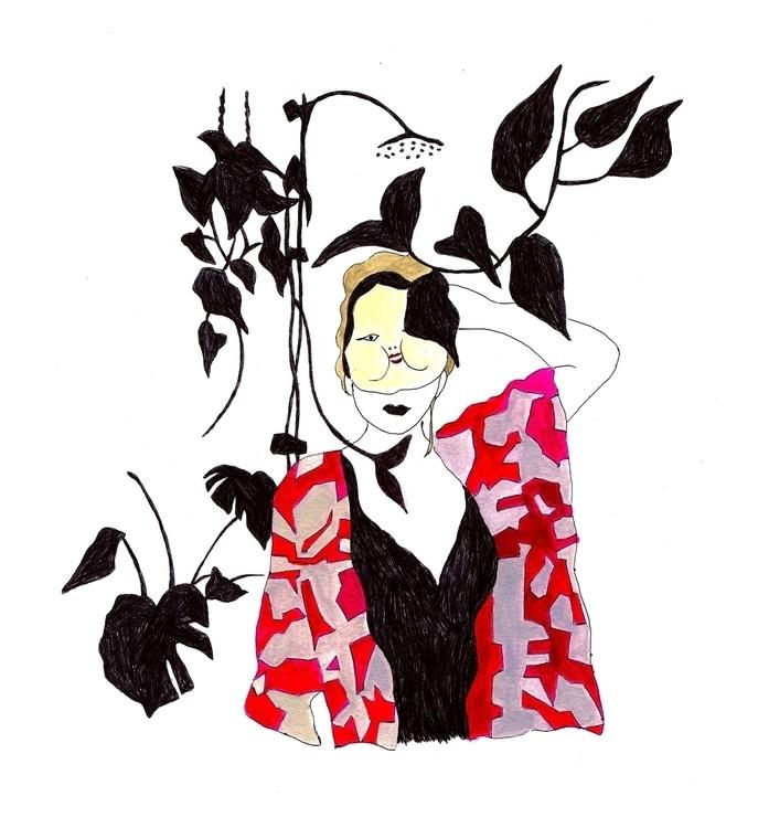 art@elloart illustration print  - toshikokimura | ello