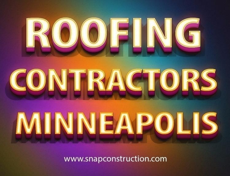 Hire Roofing Contractors Minnea - snapconstruction | ello