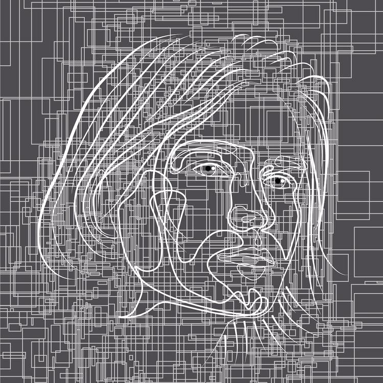 Kurt 2/3 kurt cobain 2d doodle  - sandromartini | ello