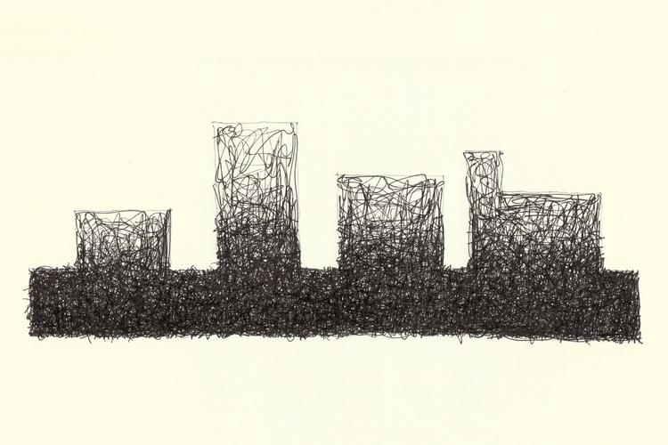 Linee 04 lines blacklines linew - danilo_dg | ello