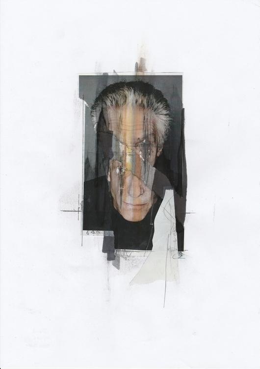 David - Handmade collage portra - manuduf | ello
