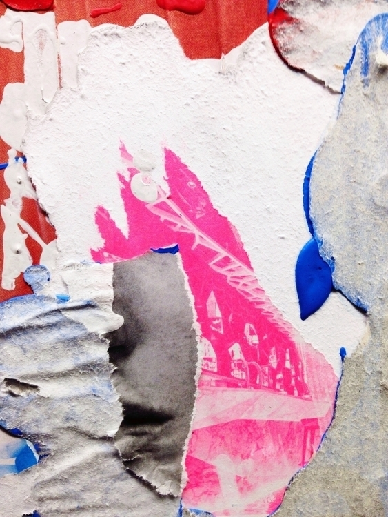 art print abstract collage Ello - jkalamarz | ello
