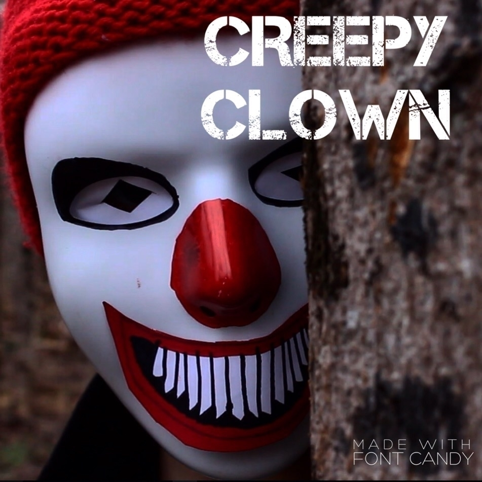 This SCARY VIDEO Clown stalking - filmmakingman | ello