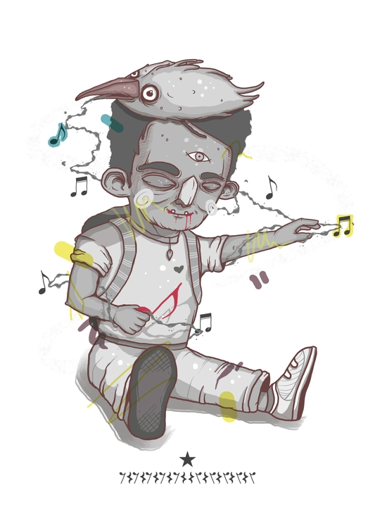 Music Box illustration newonell - kenrigomez | ello