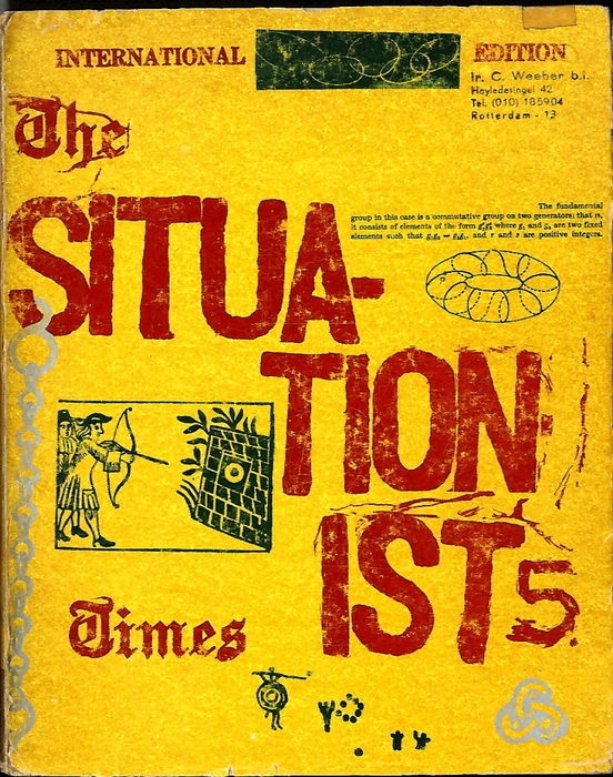 The Situationist Times 5 Jacque - bintphotobooks | ello