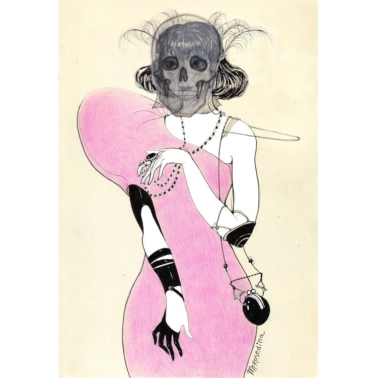 Carpe diem \ woman pink dress*  - mirosedina | ello