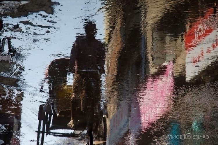 Reflection game: When streets f - vinceboisgard | ello