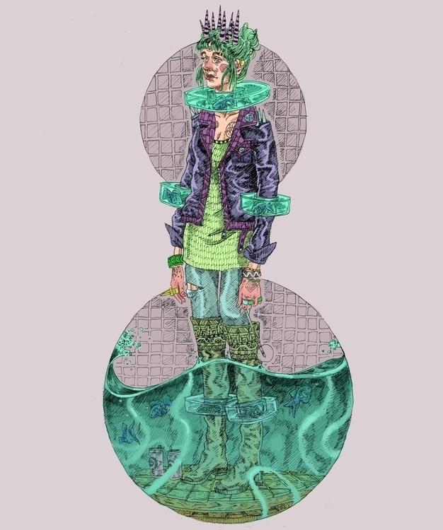 anatomy failure' illustration i - kitlayfield | ello