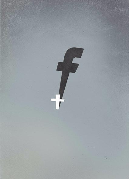 The death privacy FB cross whit - marcomelgrati | ello