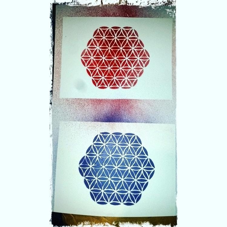 New stencil! - obie | ello