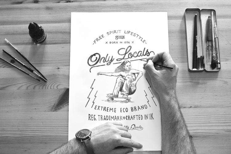 illustration drawing pencil ska - heymikel | ello