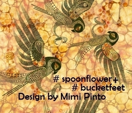 design spoonflower bucketfeet c - mimi-pinto | ello
