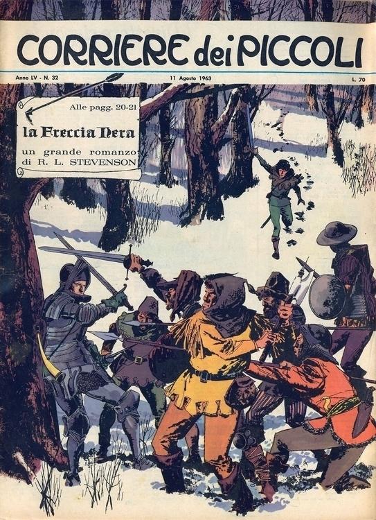 [La freccia (di Battaglia Forin - corrierino | ello