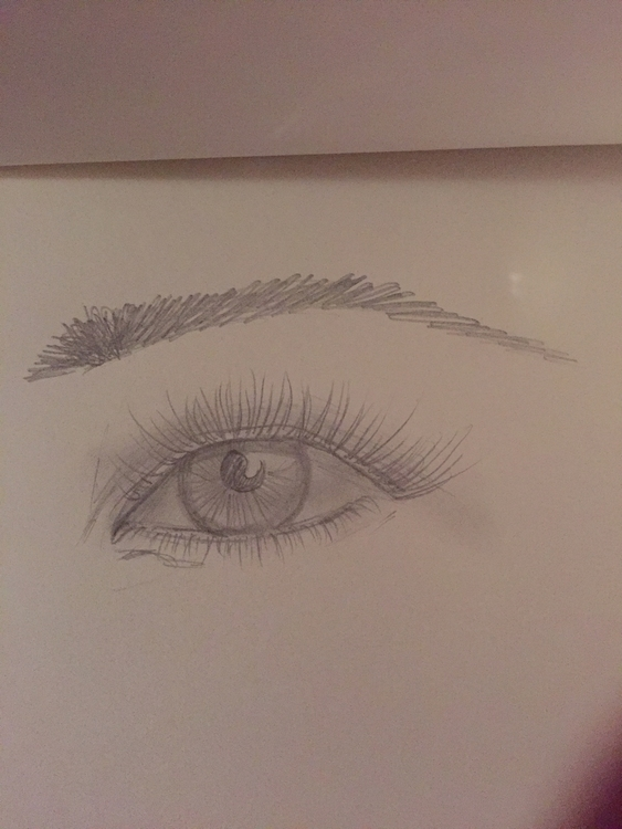 2MinSketch eye eyelash 4H - morganmt | ello