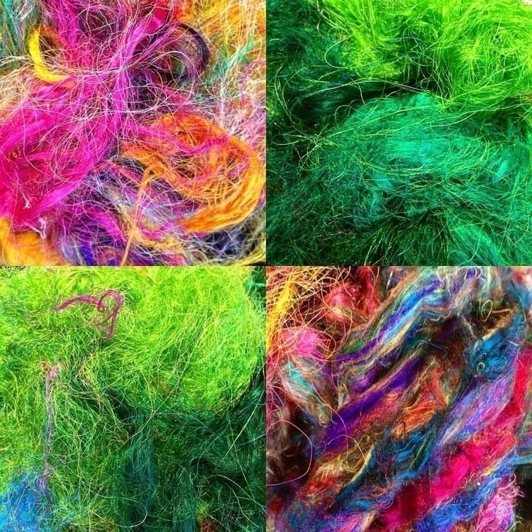 day playing silk fibres. feltma - arnolds-attic | ello