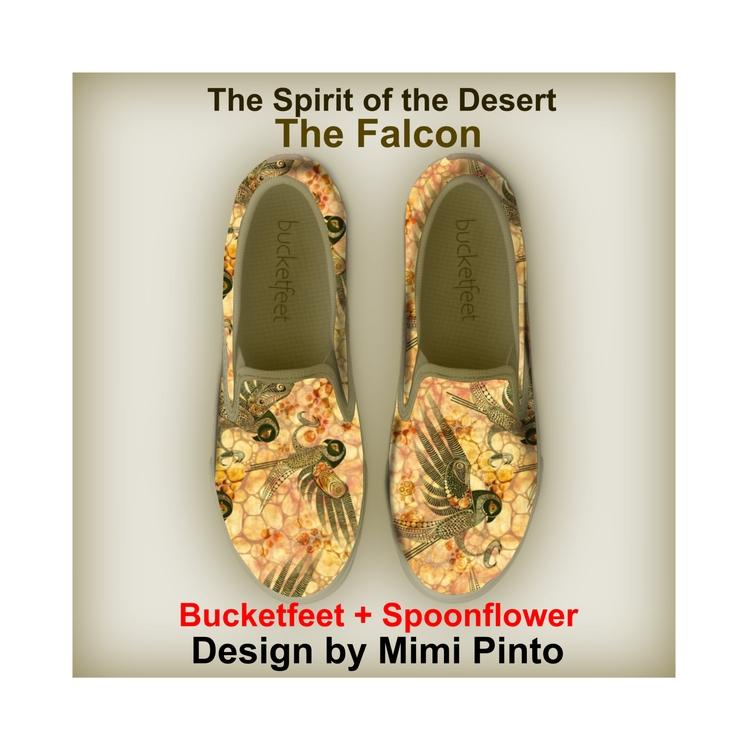 "Spirit Animals Falcon"" canvas s - mimi-pinto | ello"