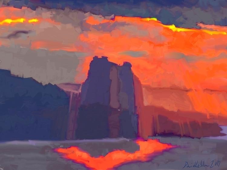 landscape Abstract created artr - lobber66 | ello