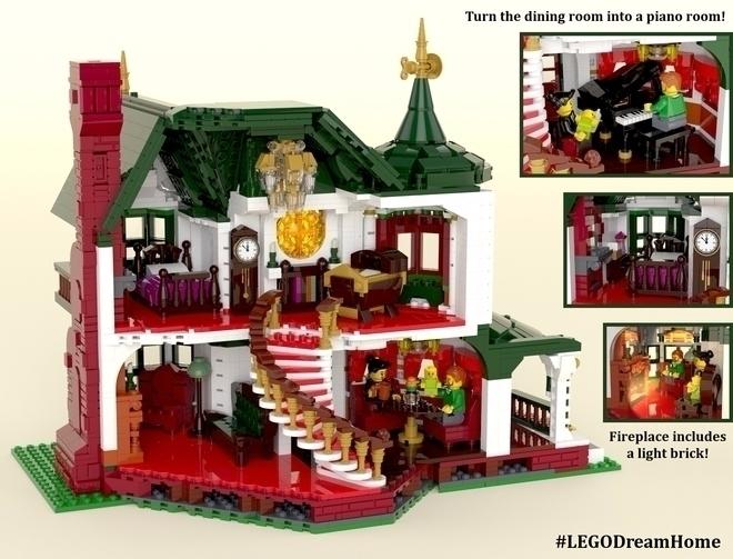 Victorian dream home ... LEGO B - bonniegrrl | ello