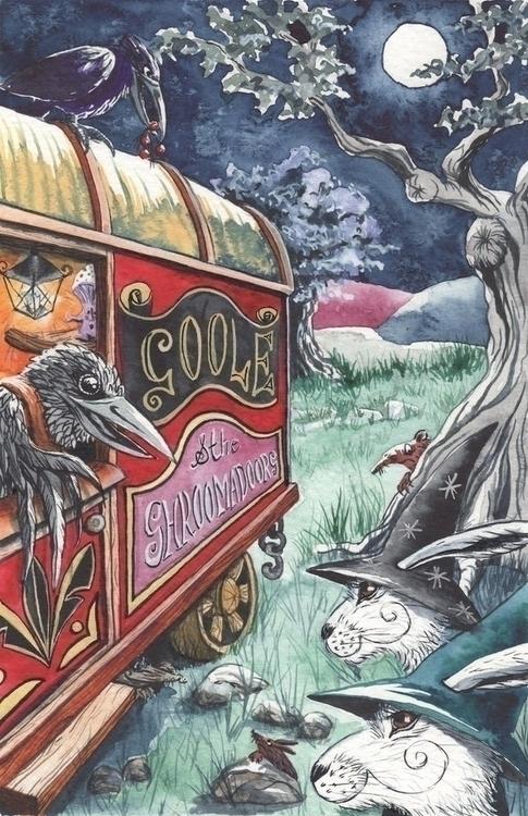 'Goole Shroomadoors' illustrati - matlockthehare | ello