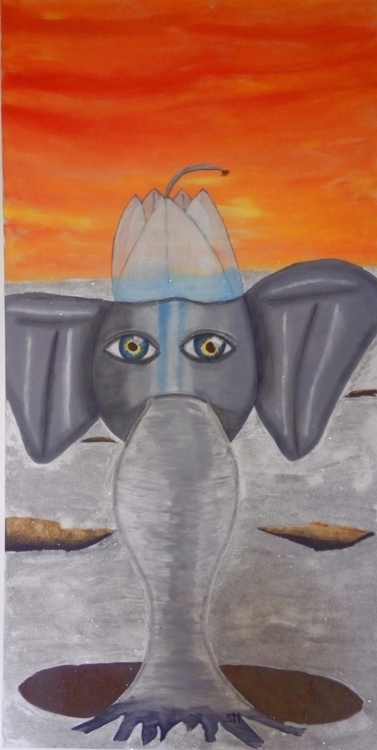 Elephant tree Homesickness Germ - oneroses | ello