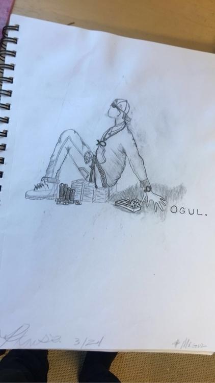 Mogul.. KansasCity art drawing  - scritchmo | ello
