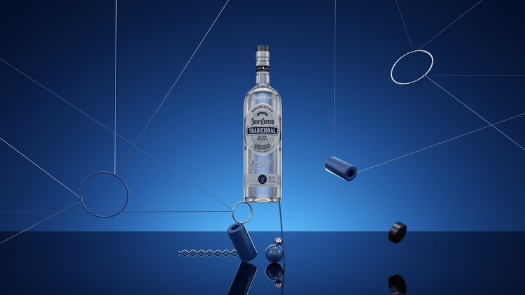 josecuervo tequila ad bottle 3D - nicocastro   ello