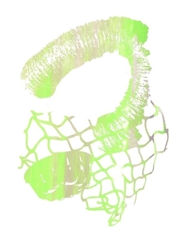 Silkscreen monoprint - katherinespinella   ello