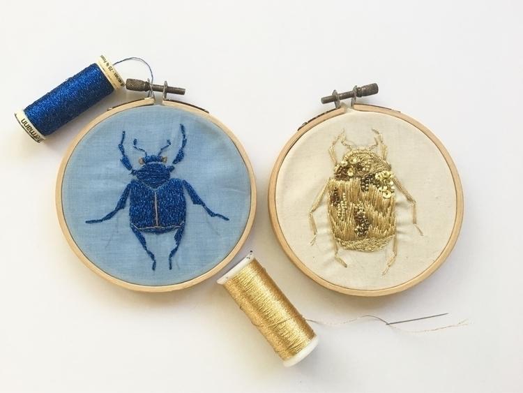 (Testing embroidery) - remediosart | ello