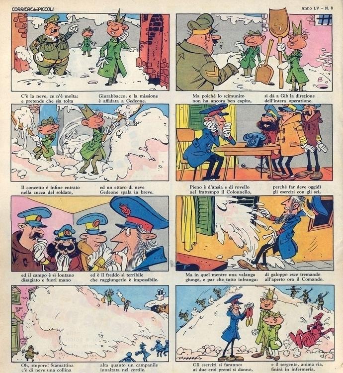 la neve, ce (di Cimpellin) Trat - corrierino | ello