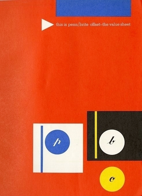 Sutnar Eckersley: Paper Adverts - p-e-a-c   ello
