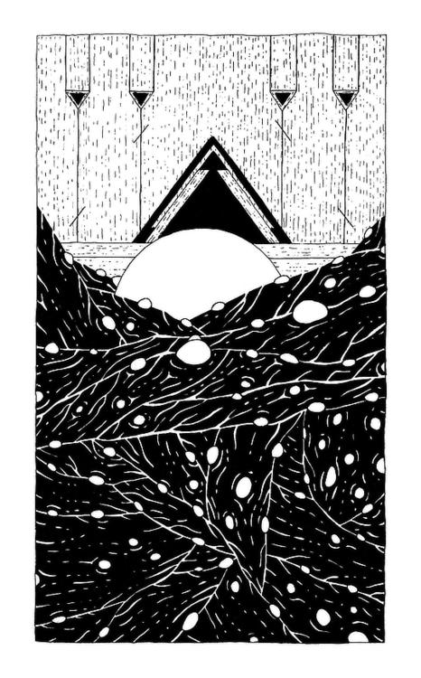 Artist Nicolas Trillaud blob bu - 3-3-3 | ello