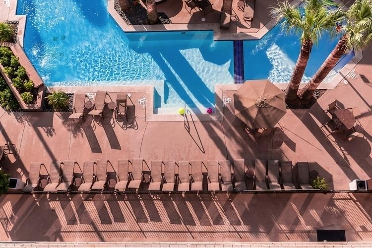 Pool aerial view pool Holiday I - mattgharvey | ello