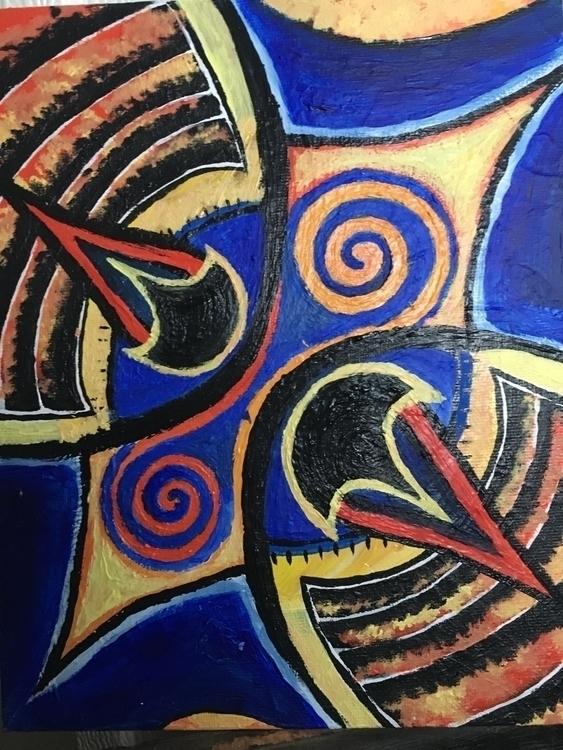 🤙 acrylic painting - saltyerica | ello