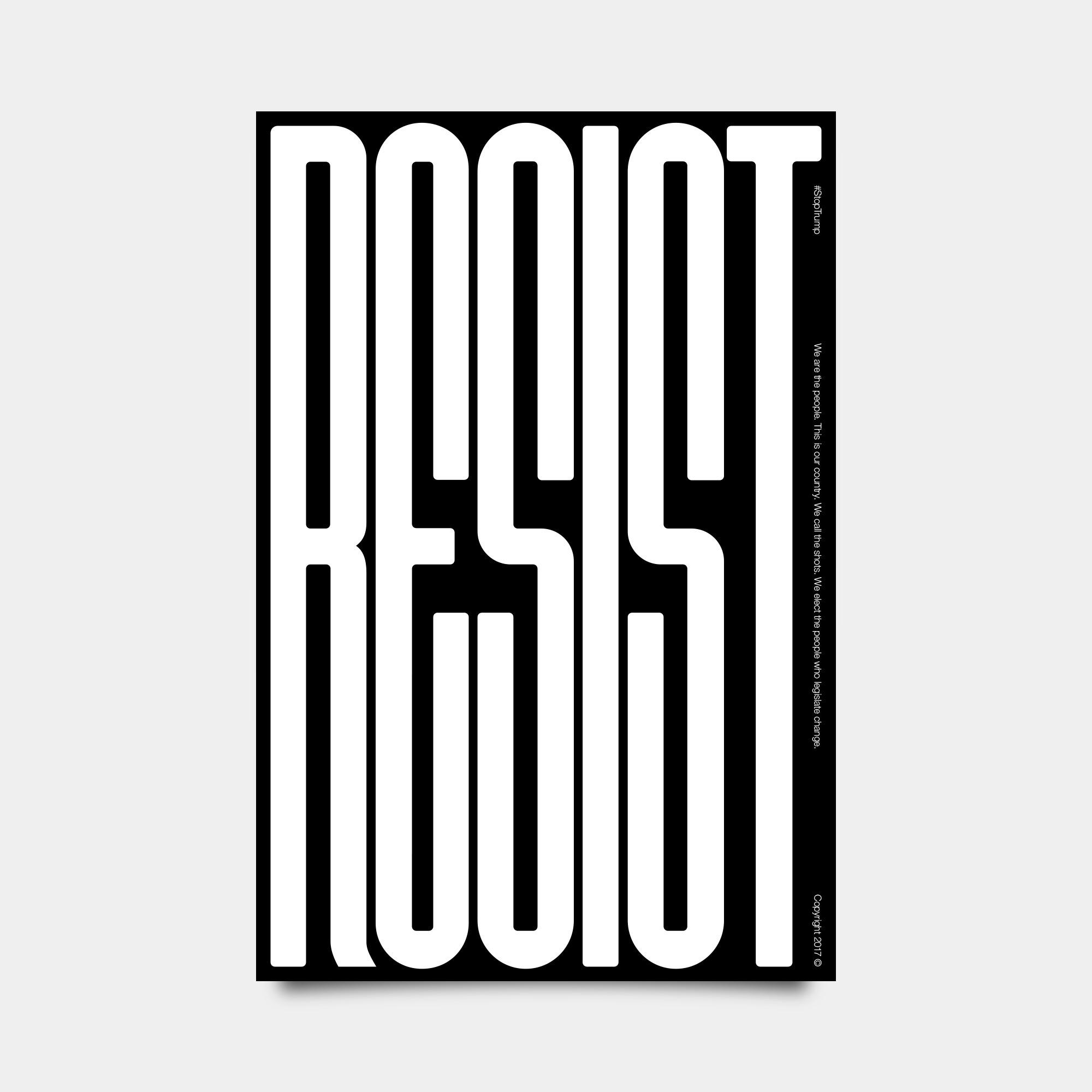 Resist StopTrump - jschachterle | ello