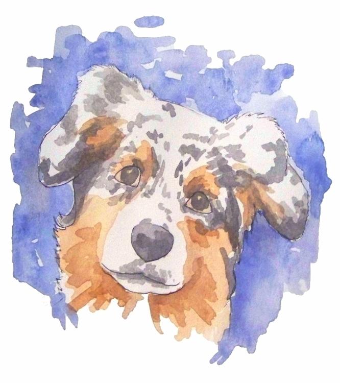 doggo art ink sketch sketchbook - todrawtoday | ello