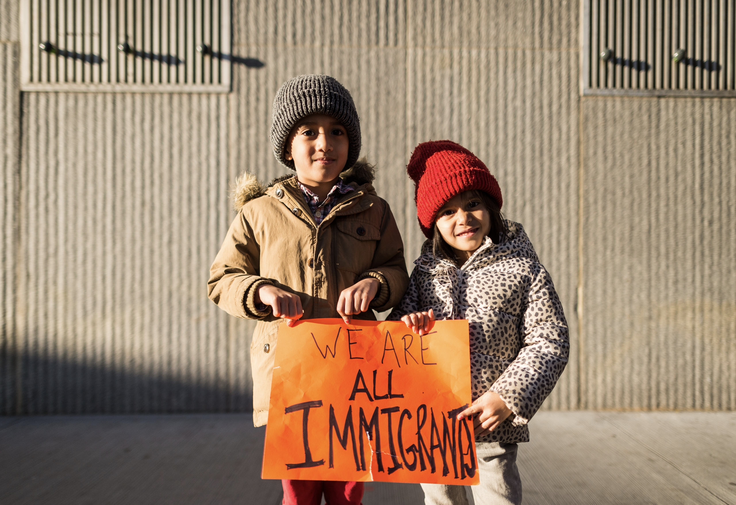 Immigrants - Children Battery P - danielkrieger | ello