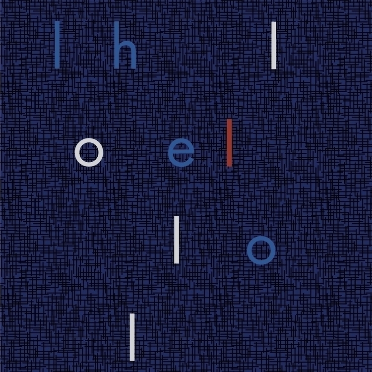 type pattern study works... - thedepartment | ello