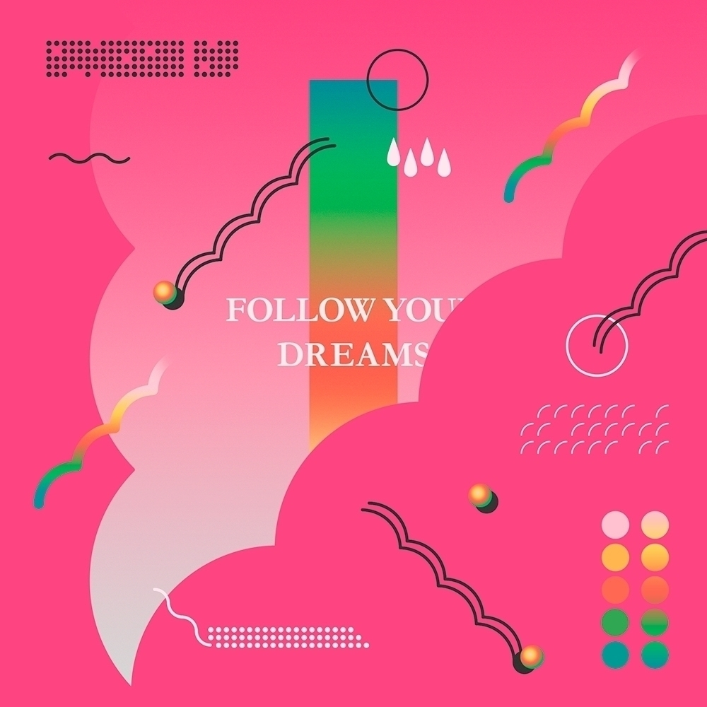 Follow Dreams 🎶 art artwork des - lxtxcx | ello