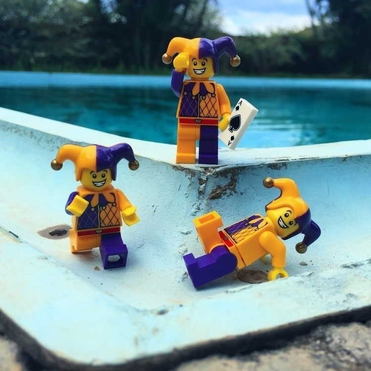 Jokers alround 🃏 Lego children - dannymainzer | ello