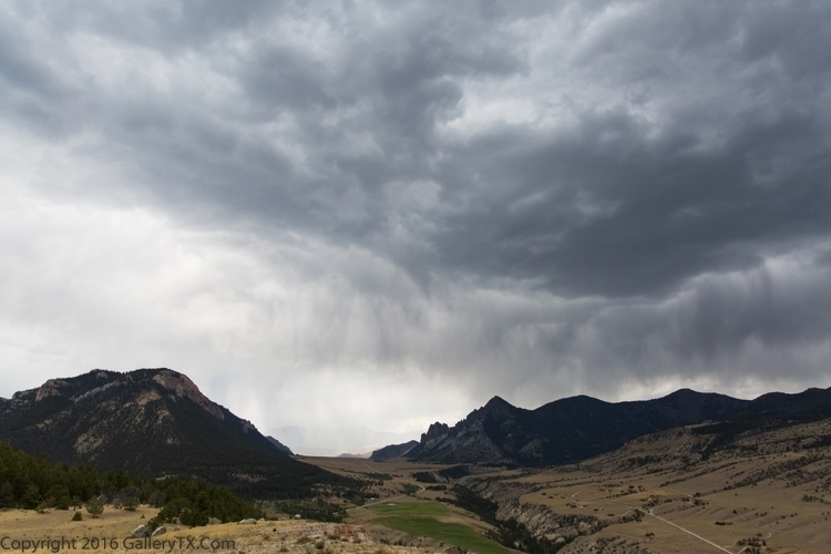 Sunlight Basin Storm ( Wyoming  - gallerytx | ello