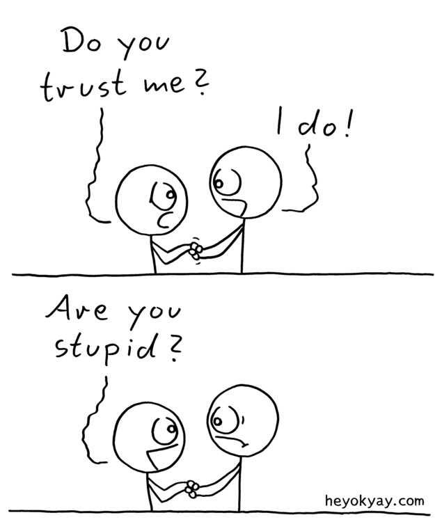 trust friendship loyalty comics - heyokyay | ello