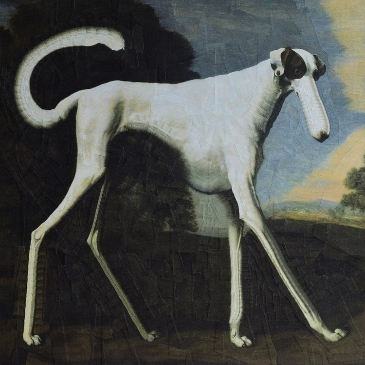 Dog Stubbs, manipulation painti - loladupre   ello