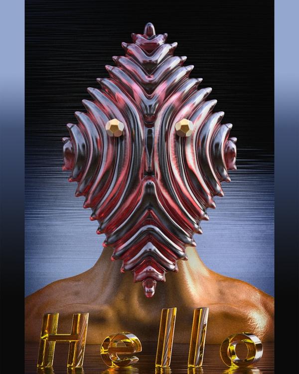 3D art digitalart elloart textu - frank_yunker | ello
