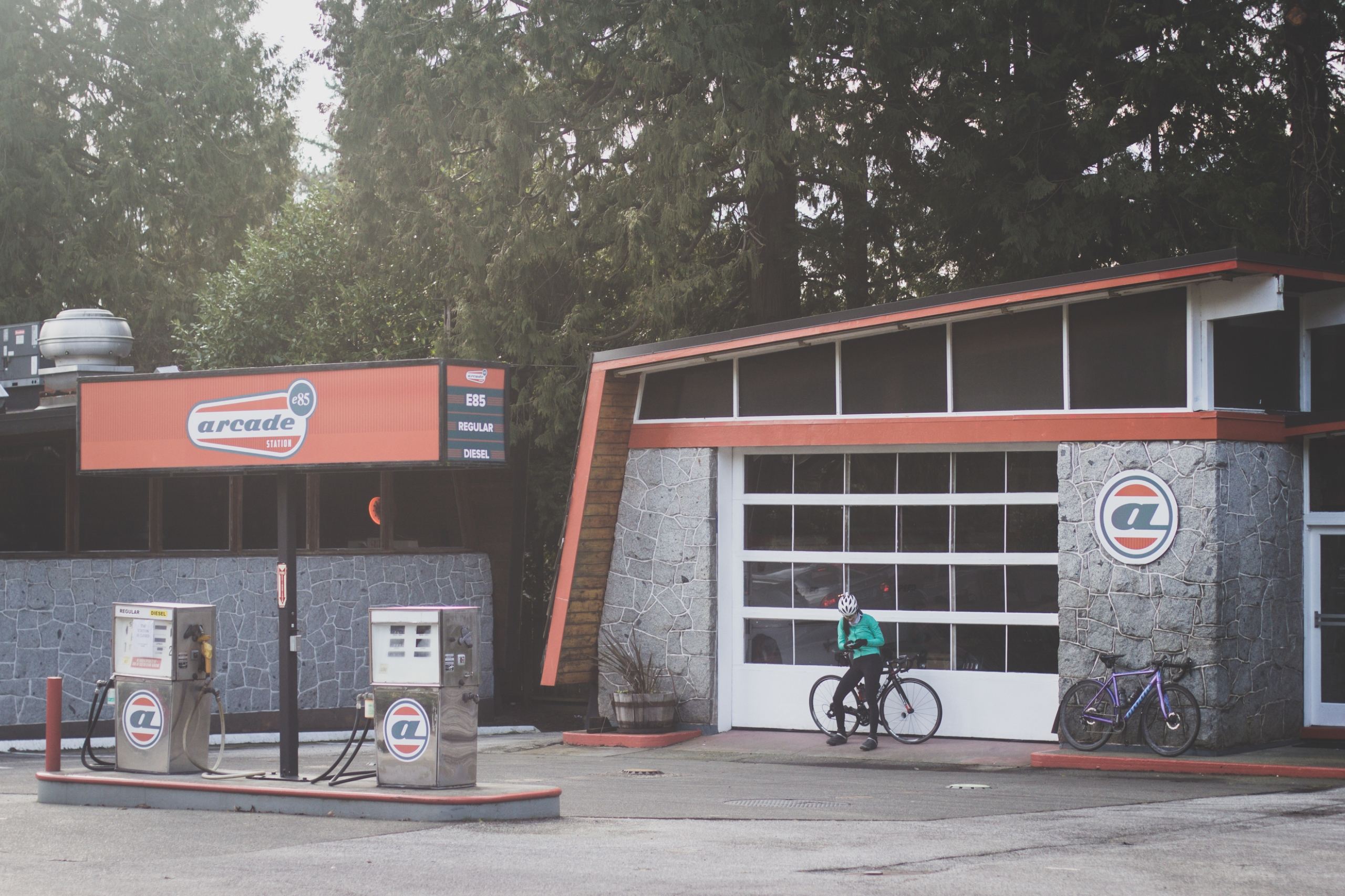 gas stations - ridegradient | ello