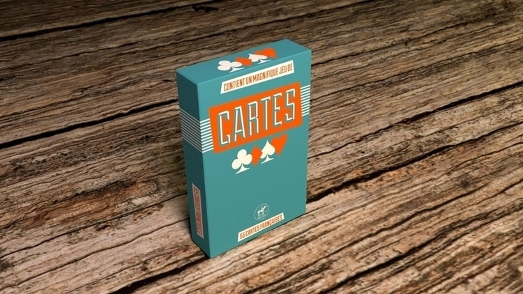 Packaging design playing cards, - fabulousrice | ello