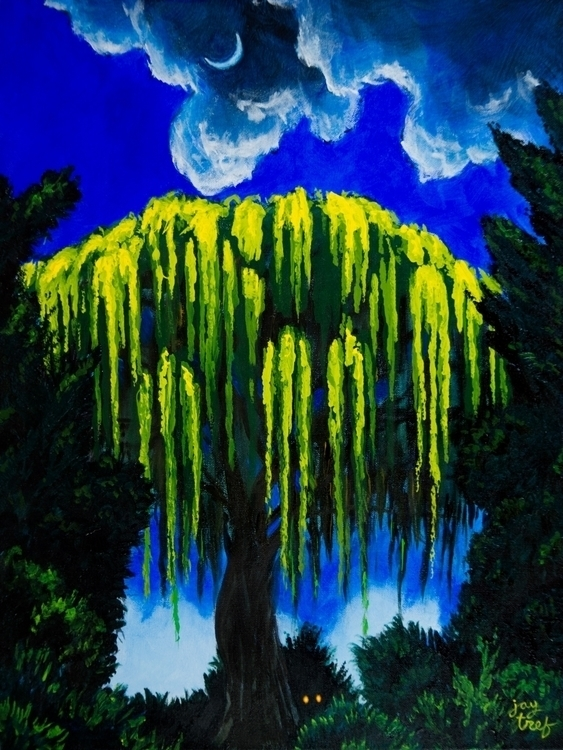 fine art painting. Weeping Will - jaytref | ello